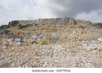 Limestone Quarry Mining Stock Photo (Edit Now) 711687340