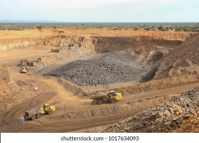 Open pit Manganese Mining and processing