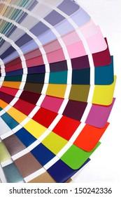 open RAL pantone sample colors catalogue