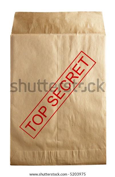 open rude envelope for document