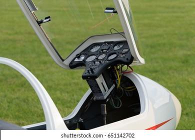 A open sailplane