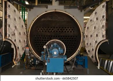 Open Scotch Marine Steam Fire Tube Boiler