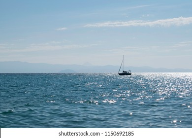open sea and boat