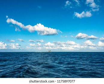 open sea landscape with clouds