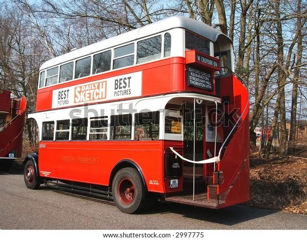 Open Staircase London Bus