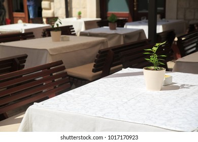 Open summer cafes, Kotor, Montenegro.