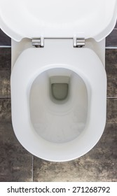 Open Toilet, Top View