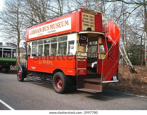Open Top London Bus