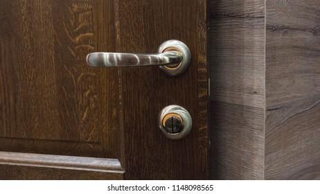 Hasp Door Lock Stock Photo (Edit Now) 1121876024 - Shutterstock
