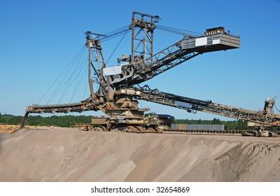 Opencast Coal Mining Excavator/Backfiller