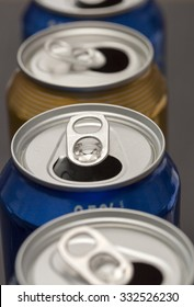 Opened Beer Cans