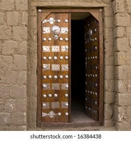 opened door in timbuktu