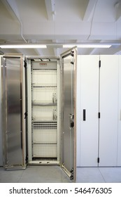 Opened storage for storing data in empty mobile cellular communication center