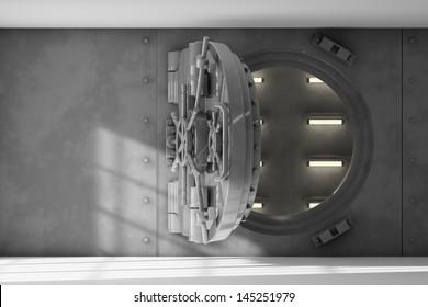 Opened vault