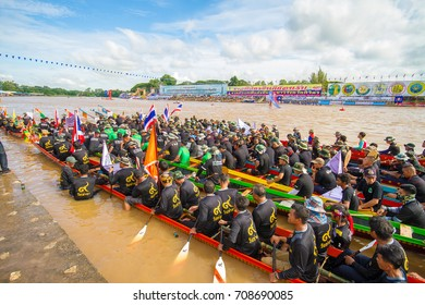 Opening Ceremony of Phichit Traditional Boat Festival on September 2, 2017.