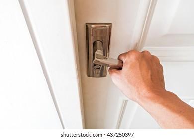 Opening the door to entering home