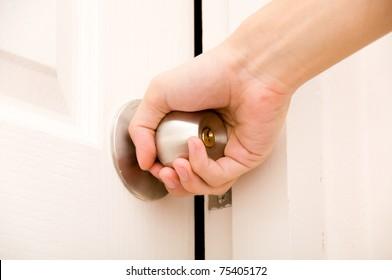 Opening door knob