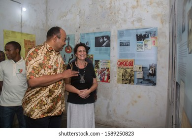 OPENING OF THE EXHIBITION  FADO, at HIFATHI BUILDING Zanzibar / Tanzania - December 15th 2019 : The Exhibition was officially opened by Minister Information, Tourism and Heritage Mahmoud Kombo.