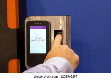 Biometric Device Images, Stock Photos & Vectors | Shutterstock