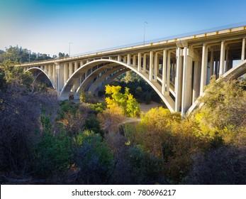 Open-Spandrel Arch - Concrete - CA 134 - Pasadena, CA