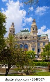 Opera de Monte Carlo-Salle Garnier. Monaco