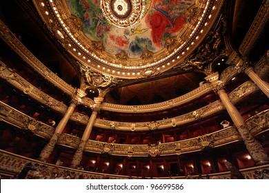 Opera de Paris, Palais Garnier - Shutterstock ID 96699586