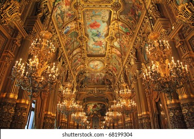 Opera Garnier in France Paris Tourist Destination - Shutterstock ID 68199304