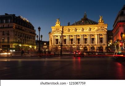 Opera Garnier, Paris, France - Shutterstock ID 121087759
