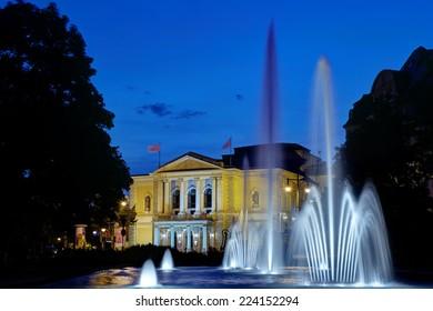 Opera House Halle (Saale), Germany