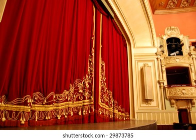 Opera House Interior - Stage and Balcony