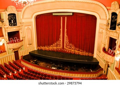 Opera House Interior - Stage and Seating