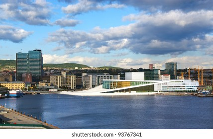 The opera house in Oslo. Norway