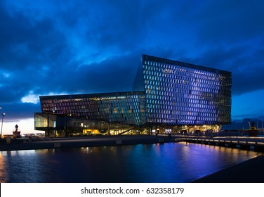 Opera house in Reykjavik