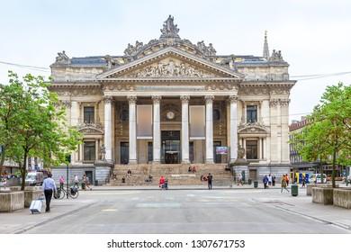 Opera La Monnaie of Brussels, Belgium