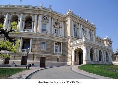 Opera theater in Odessa, Ukraine
