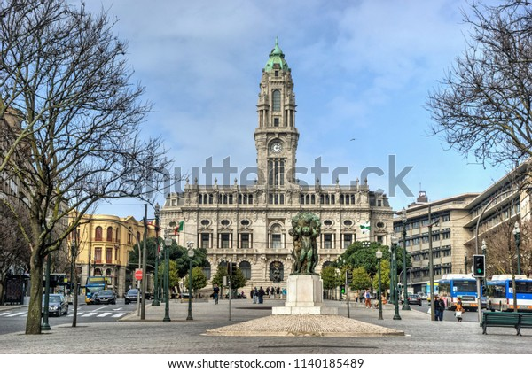 City Hall of Oporto, Portugal