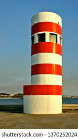 Oporto lighthouse in Portugal