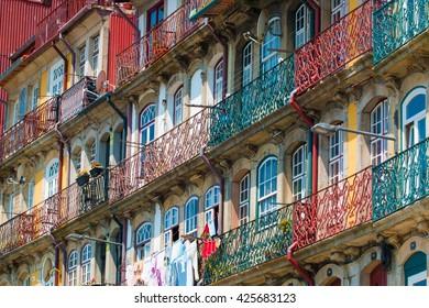 Oporto old buildings - Portugal