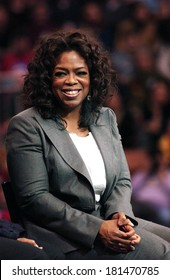 Oprah Winfrey attending Barack Obama Campaign Rally for Democratic Presidential Primary with Oprah Winfrey, The Verizon Wireless Arena, Manchester, NH, December 09, 2007