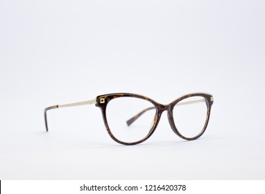 694f774a7d6b Optical eyeglasses. Glasses isolated on a white background. Modern style  eyeglasses. Glasses with