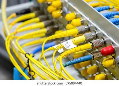 optical fiber information technology for transfer data