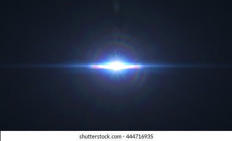 Optical flares 8K