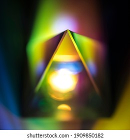 optical ptisma with light effects