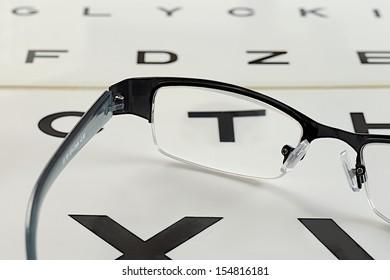 optician  - eye exam