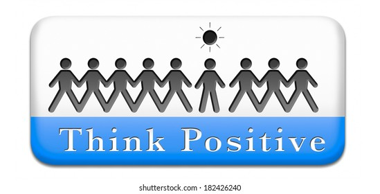 optimism positive thinking a positivity attitude leads to a happy life and mental health