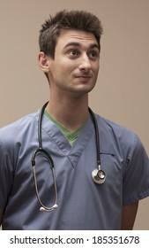 Optimistic Hosptial Staff Nurse
