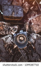 Oradea, Romania, April 2019: The new Nikon Z7 Mirrorless Camera