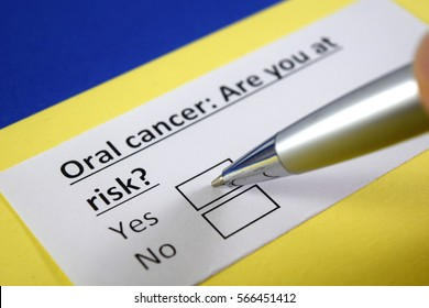 Oral cancer: Are you at risk? Yes