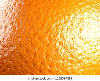 Orange. 3D Illustration.