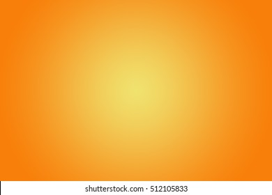 Orange  abstract gold background yellow color, light corner spotlight, faint orange vintage background. Colorful